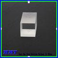 Uv sílice fundida cubo prisma óptico, cuboide prisma