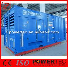 Emergency Power 20kva-2500kva Silent Diesel Genset with cummins engine