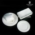 porcelain tableware set,hotel porcelain dinnerware,white round porcelain plate