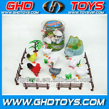 toy hen,cocks,rooster,duck model,fowl animal toys