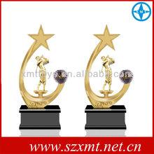handicrafts metal trophy/statue