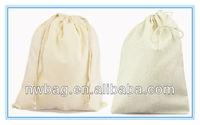 Wholesale Cotton And Cotton Linen Cheap Drawstring Pouch Bags