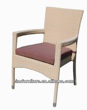 rattan wicker chair 2042 aluminum club chair