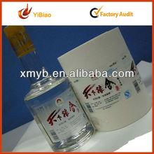 paper adhesive label for product description