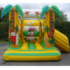 Garden play combo inflatable small slide