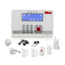 wired burglar alarm systems programme via PC