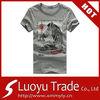 Custom 100% Cotton/Polyester T Shirts And Logo Print