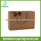 large custom printed paper shopping bag wholesale