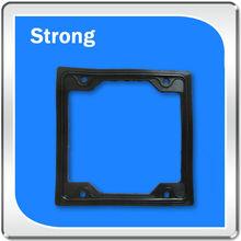 professional black square OEM Rubber Extrusion component