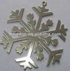 metal christmas snowflake ornament,hanging snowflake decoration