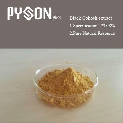 Nero cohosh p. E in polvere cohosh nero estratto