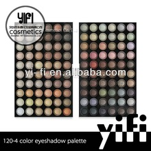 HOT Professional 120 Warm Color Eye Shadow Palette pro 120 eyeshadow palette