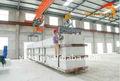 Automático completo de piedra de corte de la máquina/bloque aac línea de producción/aireado en autoclave planta de hormigón