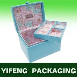 blue paper storage chest