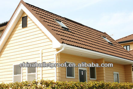 High quality Sand Coated metal Roofing tiles in guangzhou