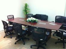 office desks, carved wood feet