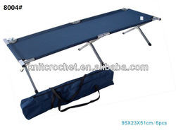 Outdoor Camping Bed, Folding Beach Bed, military folding bed