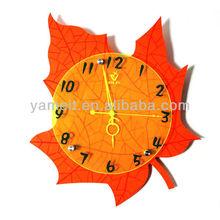 Western Style Elegant Clock Modern Wall Clock Plastic Wall Clock