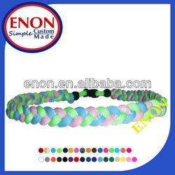 silicone magnetic necklace fashion/germanium titanium necklace