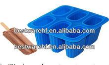 6 cups silicone ice cream mold  ice block ice box ice maker