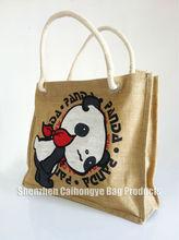Hottest sale nature jute webbing bag