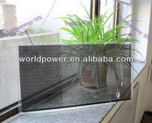 25% Transparent 100W A-Si Thin Film Transparent Solar Panel for Bus Stop