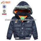 Child's winter padding garment