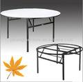 6ft redonda mesa de madeira dobrável jh-t30