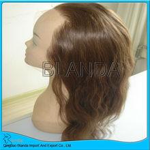2013 HOT Full Lace Human Hair full head wigs men