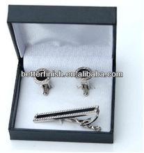 Mens Fashion Cufflinks & Tie Clips Set