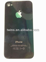 Wholesale colored glass back cover for iphone 4