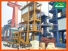 LB1000 Stationary Asphalt Hot Mix Plant-80t/h
