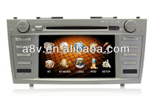 2013 new product car dvd player for Toyota camry car player with DVB-T GPS FM RDS