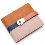 Stylish Genuine Leather Lock Catch Shoulder Bag for Men