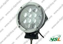 7 inch 12pcs * 5W CREE 60W led work light,driving lamp round