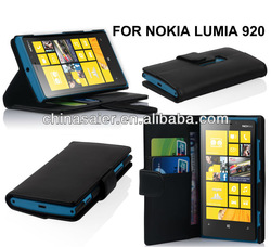 for Nokia Lumia 900 wallet leather cases