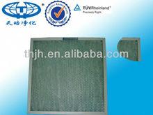 Fiber Glass High Temperature Resistance Coarse Panel Air Filter
