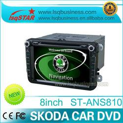 "LSQ Star 8"" Car radio for Skoda Ocatvia with GPS Canbus IPAS OPS"