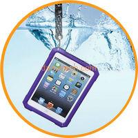 for iPad Mini Ultra-thin Waterproof Plastic Hard Case Cover Dark Blue from Dailyetech