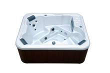 3 person Beauty spa-A522 with Lucite Acrylic shell