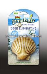 Shell design Gel hanging air freshener/aroma product