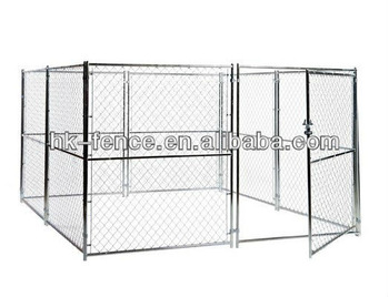 Lowes Lucky Dog 10-ft x 10-ft x 6-ft Outdoor Dog Kennel Chain Link Panels