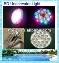 high power 3w LEDs IP68 RGB Automatic control mode/DMX512/remote control par56 led underwater lamp