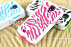 newest zabra-strip back cover case for samsung galaxy s4 i9500