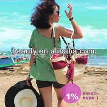 fashion corn bran straw bags