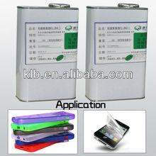 RoHs degree platinum curing silicone adhesive /liquid silicone adhesive liquid silicone