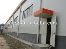 nude packing/high quality/low cost prefab workshop building fabricated workshop building