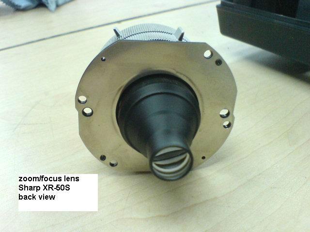 XR-50S Projector Lens