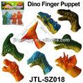 vários fantoche de dedo do brinquedo do dinossauro