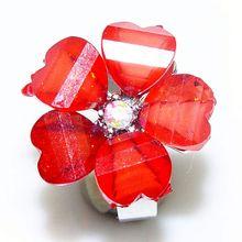 Fashion Custome Jewelry 3 Carat Princess Cut Diamond Ring